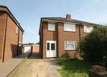 Thumbnail 3 bed semi-detached house to rent in Newdene Avenue, Northolt, Middlesex