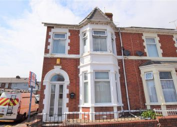 Thumbnail 3 bed end terrace house for sale in Maes-Y-Cwm Street, Barry