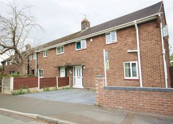 Thumbnail 3 bed end terrace house for sale in Clifton Close, Woolston, Warrington