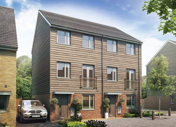 "Thumbnail 3 bed terraced house for sale in ""The Greyfriars"" at Goldsel Road, Swanley"