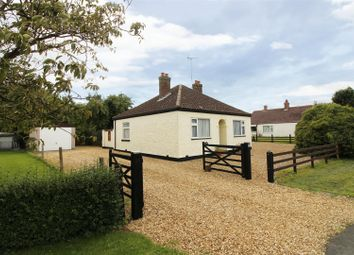 Thumbnail 3 bed detached bungalow for sale in Peakirk Road, Glinton, Peterborough