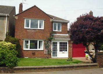 Thumbnail 3 bed detached house for sale in Constance Avenue, North Hykeham, Lincoln