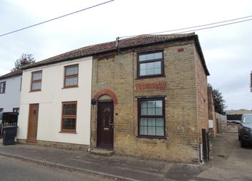 Thumbnail 2 bed semi-detached house to rent in Sluice Road, Downham Market