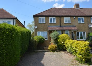 Thumbnail 2 bed end terrace house to rent in Gilders Road, Chessington, Surrey