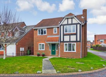 Thumbnail 4 bed detached house for sale in Ellerton Way, Cramlington