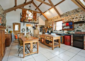 Thumbnail 5 bedroom barn conversion for sale in Gwelfor, Fishguard