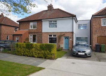 Thumbnail 3 bed semi-detached house to rent in Maple Avenue, Bishopthorpe, York