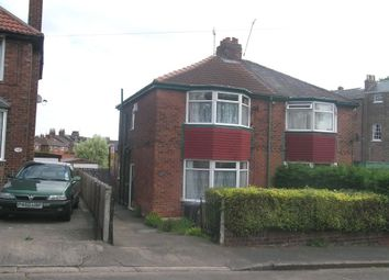 Thumbnail 3 bedroom semi-detached house for sale in Enfield Crescent, Holgate, York