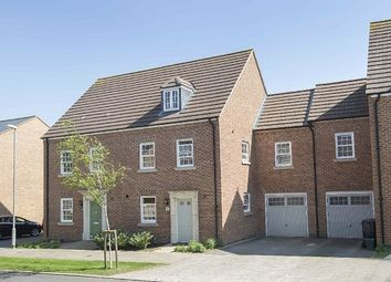Thumbnail 4 bed town house for sale in Elton Street, Priors Hall, Corby