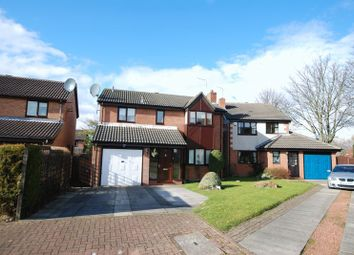Thumbnail 4 bed detached house to rent in Westwell Court, South Gosforth, Newcastle Upon Tyne