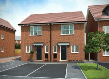 Thumbnail 2 bed semi-detached house for sale in Plot 106 Weaver Phase 3, Navigation Point, Cinder Lane, Castleford