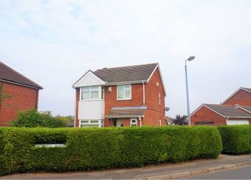 Thumbnail 3 bed detached house for sale in Woburn Avenue, Lincoln