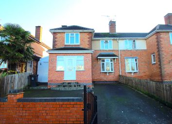 Thumbnail 3 bed town house for sale in Hockley Farm Road, Leicester