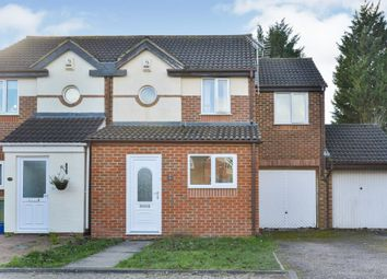 Thumbnail 3 bed semi-detached house for sale in Higgs Court, Loughton, Milton Keynes