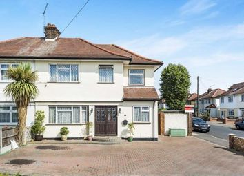 Thumbnail 4 bedroom semi-detached house for sale in Collier Row, Romford, Essex