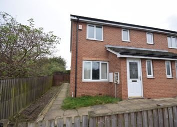Thumbnail 3 bed town house for sale in George Street, Streethouse, Pontefract