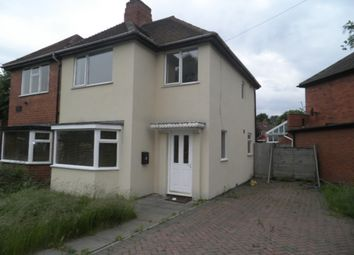 Thumbnail 3 bedroom semi-detached house to rent in Sterndale Road, Great Barr, Birmingham