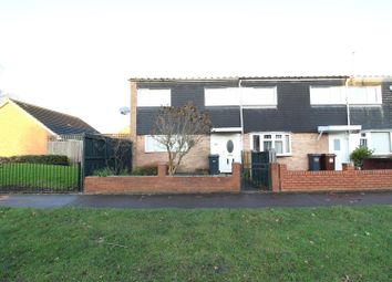 Thumbnail 3 bed end terrace house for sale in Dunster Road, Chelmsley Wood, Birmingham