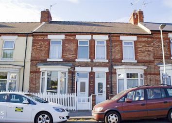 Thumbnail 2 bed terraced house for sale in Russell Street, Darlington, Durham