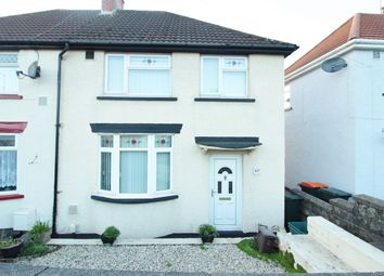 Thumbnail 3 bed semi-detached house for sale in Malpas Road, Newport