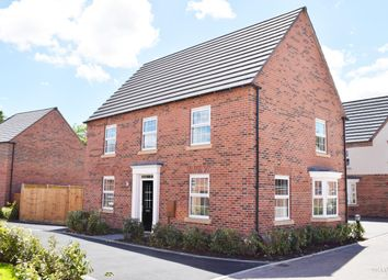 "Thumbnail 4 bed detached house for sale in ""Cornell"" at Forest House Lane, Leicester Forest East, Leicester"