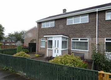 Thumbnail 3 bed end terrace house to rent in St. Davids Close, Spennymoor