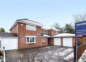 Thumbnail 6 bed detached house for sale in Long Lane, Tilehurst, Reading