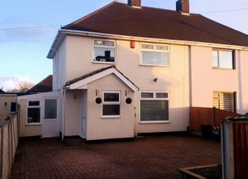 Thumbnail 3 bed semi-detached house for sale in Chetwin Road, Nottingham