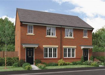"Thumbnail 2 bedroom semi-detached house for sale in ""The Yare"" At Ladyburn Way, Hadston, Morpeth NE65, Hadston,"