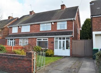 Thumbnail 3 bed semi-detached house for sale in Arthur Road, Tipton