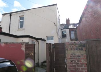 Thumbnail 2 bedroom end terrace house for sale in Back Keswick Road, Blackpool