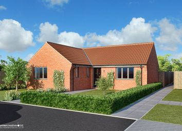 Thumbnail 3 bed detached bungalow for sale in Back Lane, Mileham, King's Lynn