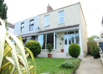 Thumbnail 3 bed semi-detached house to rent in West Cross Avenue, Norton, Swansea