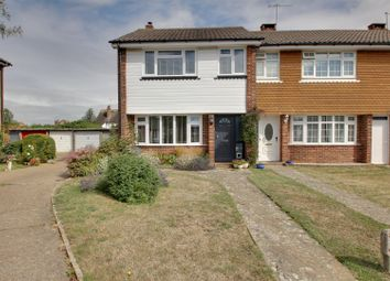 Thumbnail 3 bed end terrace house for sale in Guildford Close, Worthing