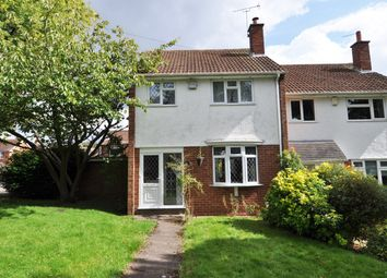 Thumbnail 3 bed end terrace house to rent in Presthope Road, Birmingham