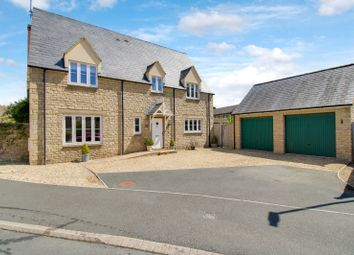 Thumbnail 4 bed detached house for sale in St Julians Close, South Marston, Wiltshire