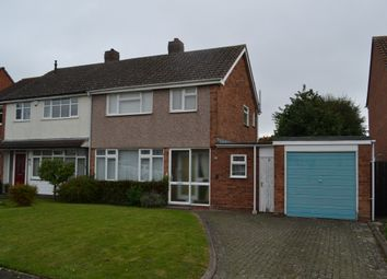 Thumbnail 3 bed semi-detached house for sale in Jackson Road, Lichfield, Staffordshire