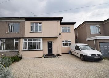 Thumbnail 4 bed semi-detached house for sale in King George VI Avenue, East Tilbury, Tilbury