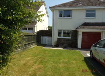 Thumbnail 3 bed semi-detached house to rent in Velator Close, Braunton