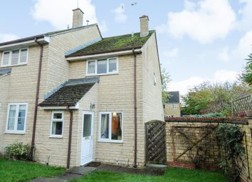 Thumbnail 2 bedroom end terrace house for sale in Eton Close, Witney