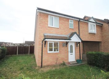 Thumbnail 2 bed semi-detached house to rent in Hoddesdon Crescent, Dunscroft, Doncaster