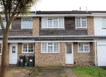 Thumbnail 3 bed terraced house for sale in Calmore Close, Bournemouth