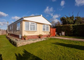 Thumbnail 3 bed mobile/park home for sale in Vine Tree Park, Tudorville, Ross-On-Wye