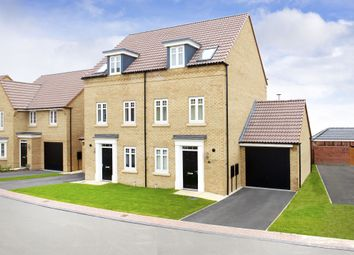 "Thumbnail 3 bedroom semi-detached house for sale in ""Greenwood"" at Barnsley Road, Flockton, Wakefield"