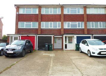 Thumbnail 3 bedroom town house for sale in Milton Road, Swanscombe