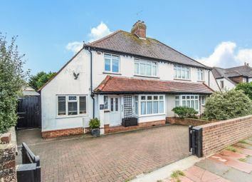Thumbnail 3 bed semi-detached house for sale in Warmdene Road, Brighton