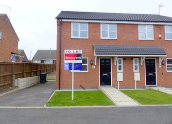 Thumbnail 3 bedroom semi-detached house to rent in Waverley Close, Kirkby-In-Ashfield, Nottingham
