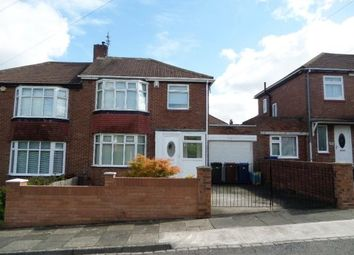 Thumbnail 3 bed semi-detached house to rent in Bellister Grove, Newcastle Upon Tyne