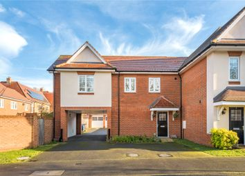 Thumbnail 1 bed flat for sale in Hengest Avenue, Esher, Surrey