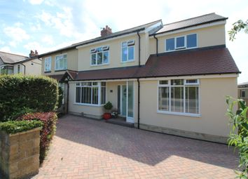 Thumbnail 5 bedroom semi-detached house for sale in Victoria Crescent, Horsforth, Leeds